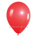 Красный шар металлик 33 см