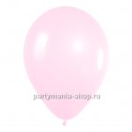 Розовый шар металлик 33 см