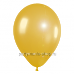 Золотой шар металлик 33 см