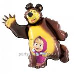 «Маша и Медведь» фигурный шар