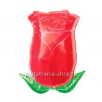 Бутон розы фигурный шар с гелием