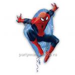 Человек-паук в прыжке фигурный шар