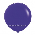 Большой фиолетовый шар пастель 90 см с гелием