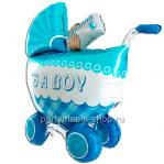 «Коляска  IT'S A BOY» 3D, фигурный шар
