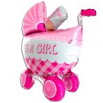 «Коляска  IT'S A GIRL» 3D, фигурный шар