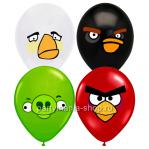 Латексные шары «Angry Birds»