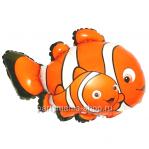 Рыба Клоун фигурный шар с гелием