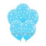 «С рождением мальчика!» шары с гелием