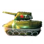 «Танк Т-34» фигурный шар с гелием