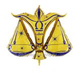 Знак зодиака «Весы» золото