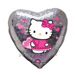 Голографическое сердце «Hello Kitty»