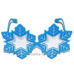Карнавальные очки «Снежинка»