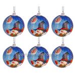 Набор ёлочных шаров «Рождество»