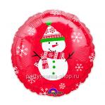 «Снеговик» Шар 45 см