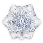 «Снежинка»  фигурный  шар