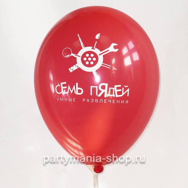 Шар с печатью логотипа 7 пядей